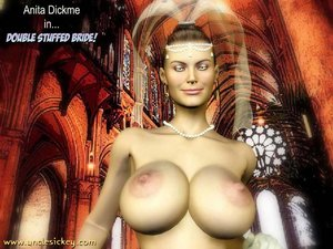 Sexy 3d. Double Stuffed Bride.