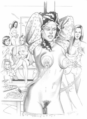 Slave girl comics. Horny MILF exposed by Rebecca.