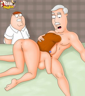 Naked toon lois griffin