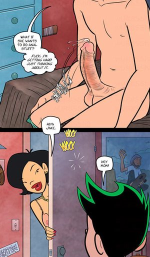 Comics porn. What if she wants to do anal stuff?