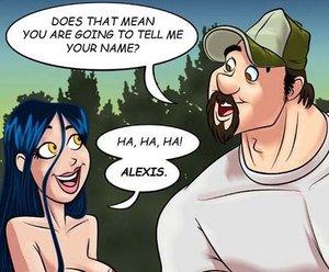 Adult cartoon comic babe