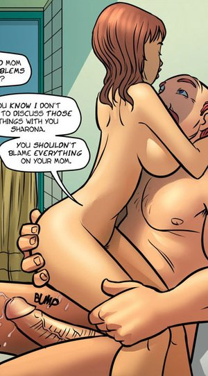 Adult comic pictures. Daddy fucks mommy.