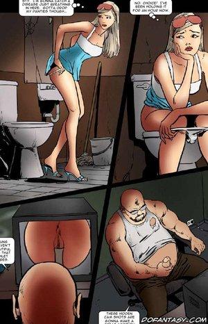 Fetish cartoons poor girls