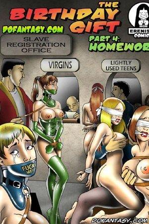 Bdsm cartoons changed sluttycow