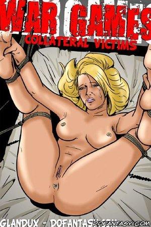 Bdsm cartoons blonde slave