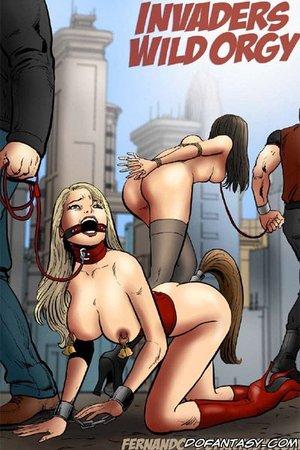 Bdsm cartoons poor girls