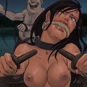 Bondage cartoons mistress fucks