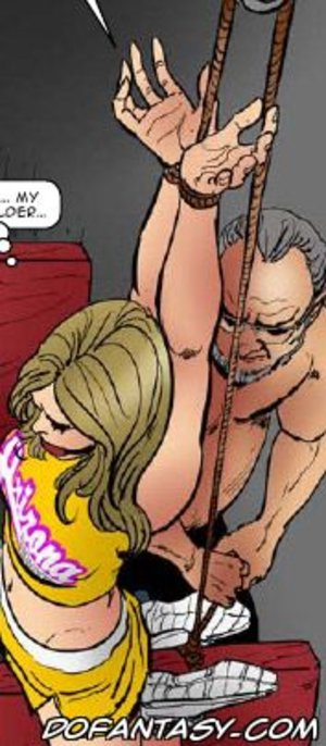 Bdsm comics tied blonde