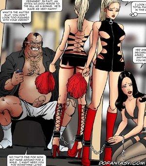 Horror comics matter slave