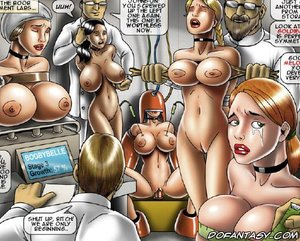Bondage toons females hospital