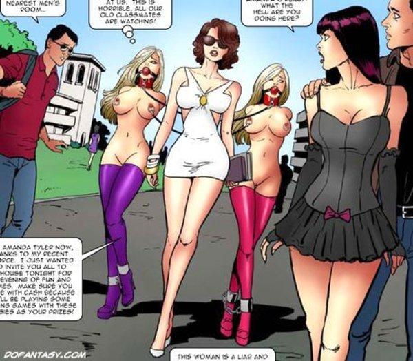 Fernando comics BDSM art