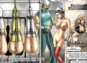 Lovely obedient slave girls