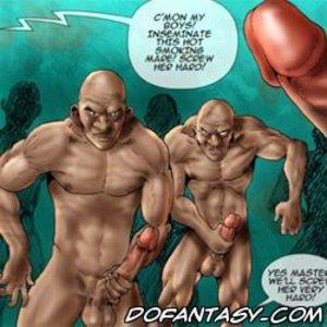 Bondage cartoons boys inseminate