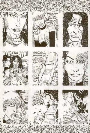 Cartoon porn comics ordinary