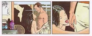 Porn comix. Hot vacation story.