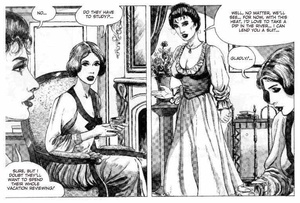 Cartoon sex noble women