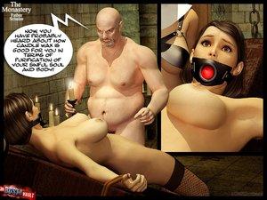 Innocent girl bound tortured