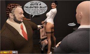 Nasty mafia guys seduce