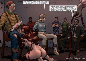 Submissive redhead suck dick