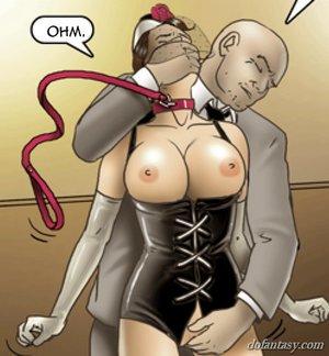 Slaves master grabs goodies