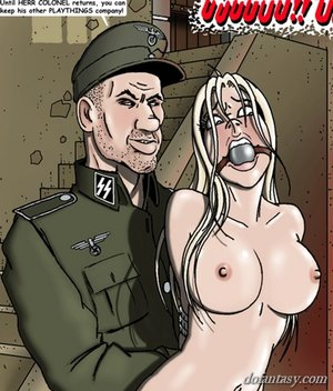 Gagged sluts part military