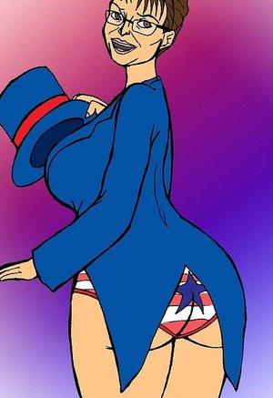 Political MILF has a mighty fine ass