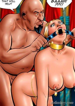Arab master fucks gagged