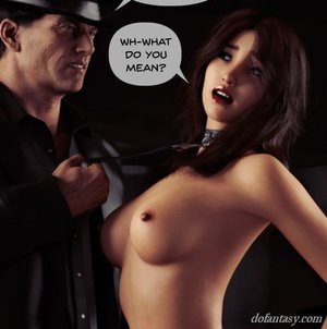 Leashed lass told private