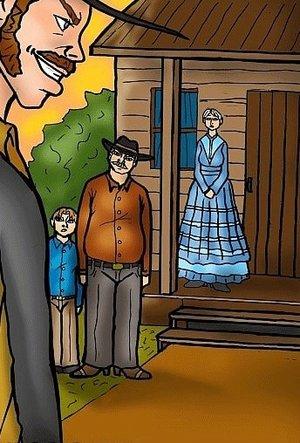 Black cowboy makes his presence known