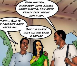 Indian man is a big fan of his hot daughter-in-law