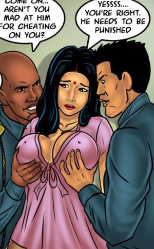 Wife is fondled by police while hubby watches