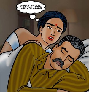 Horny Indian wife attempts to rouse her hubby