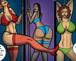 Men are impressed by skanky strippers' moves