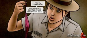Curious ranger investigates mysterious