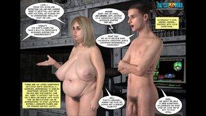 Fat ass sluts pussy invaded by aliens