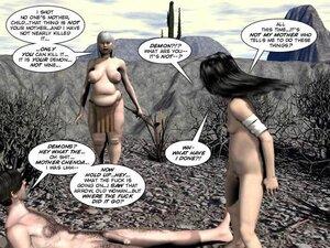 Wild west hotties sexual 3d comic