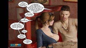 Big tits wife cheating while husband is away