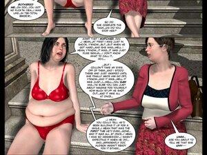 Busty mom enjoys masturbating in the toilet