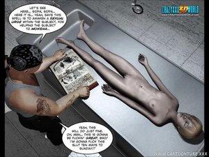 Hot chick's morgue visit