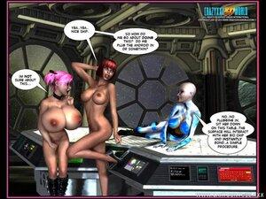 Futa fun on a spaceship