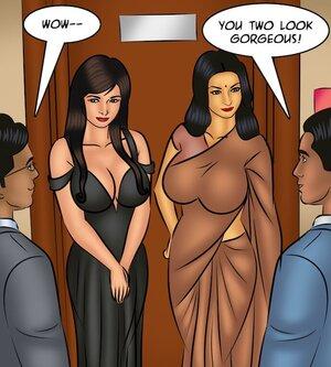 Lesbian pleasures at upscale party