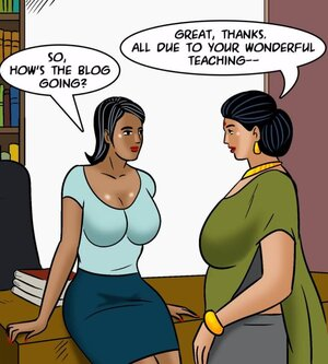 Busty Indian MILF meets a new young miss