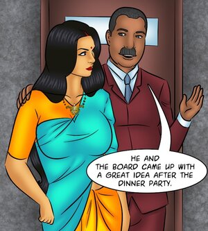 Chesty Indian MILF joins hubby at work