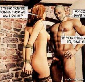 Bound girl desires dominant