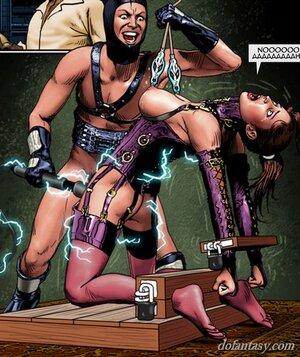 Bound slave feels powerful