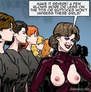 Bound slave afraid aroused