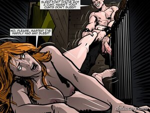 Sleep-deprived slave begs pass
