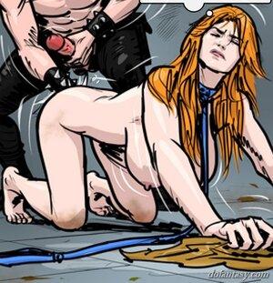 Naked girl treated awful