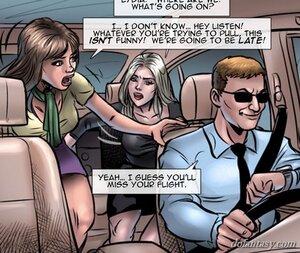 Women experience frightening car