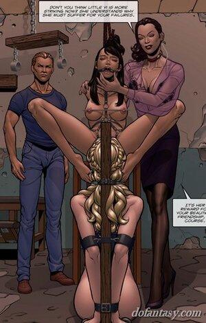 Sex slave lick bound